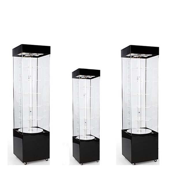 Discountable price Unit Shelves For Cosmetic Furniture - plastic display cabinet – LongFuJin