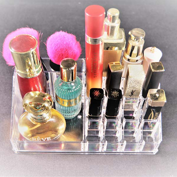China Supplier Acrylic Organic Makeup Display - cosmetic display case – LongFuJin