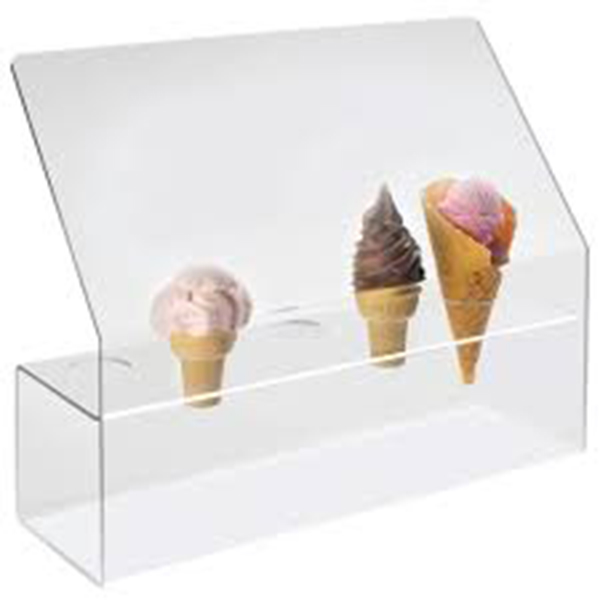 2018 wholesale price Desktop Acrylic Display Case - ice cream cone holder – LongFuJin