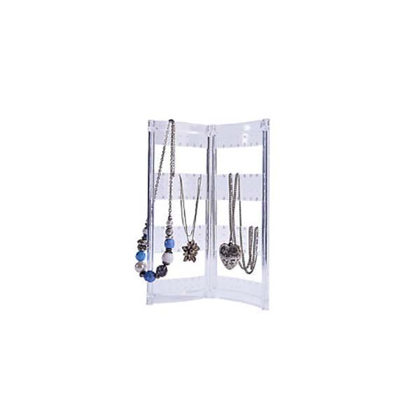 8 Year Exporter Hot Sale Acrylic Cosmetic Display - jewelry necklace stand – LongFuJin
