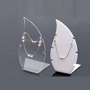 perspex jewellery display stands
