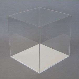 acrylic display cube