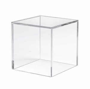 acrylic cube display box