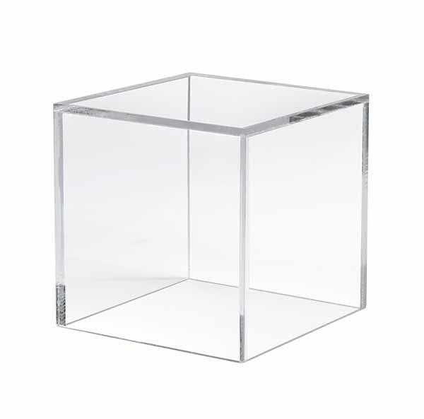 Professional Design High Quality Acrylic Shoe Display - acrylic cube display box – LongFuJin