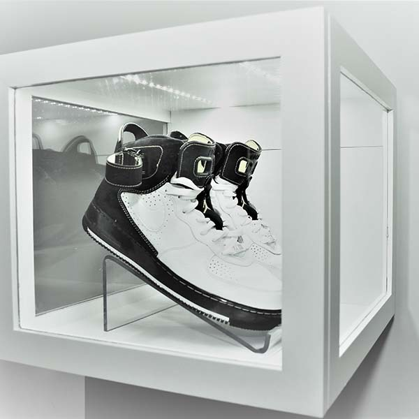 China Factory for Modern Shop Counter Design - acrylic shoe display case – LongFuJin