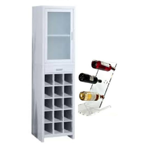 One of Hottest for Cardboard Greeting Card Counter Display - wine cabinet – LongFuJin