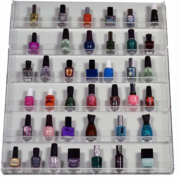 China New Product Standing Cosmetic Display Stand - nail varnish display stand – LongFuJin