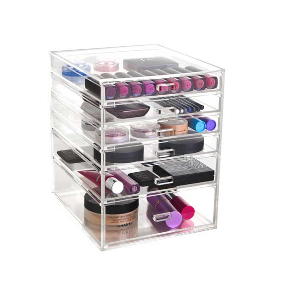 New Arrival China Trade Show Exhibits - acrylic box cosmetics – LongFuJin