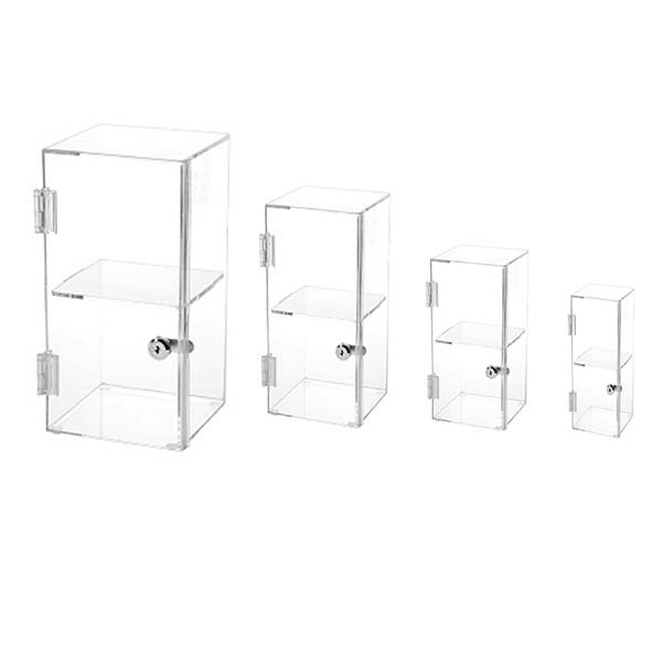 Professional Design Nail Polish Display Cabinets - acrylic square box – LongFuJin
