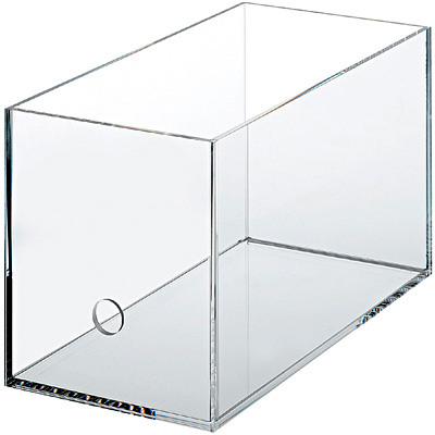 Good Quality Acrylic Display Tabletop Cube Box - acrylic ballot box – LongFuJin