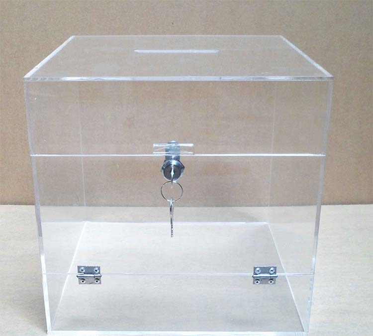 Factory selling Wall Mounted Display Units - acrylic box with lid – LongFuJin