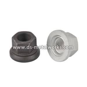 Discountable price DIN 74361-H Flat Collar Nuts Wheel Nuts with Washers for Swedish Factories