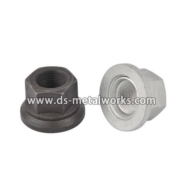OEM manufacturer custom DIN 74361-H Flat Collar Nuts Wheel Nuts with Washers to Angola Importers