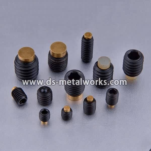 Railway Track Bolt Price -  Nylon Tip Socket Set Screws – Dingshen Metalworks
