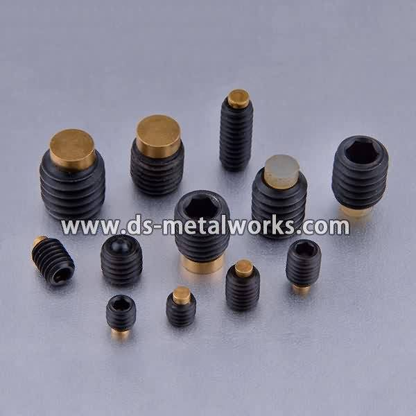 Factory source manufacturing Brass Tip Socket Set Screws for Japan Manufacturer