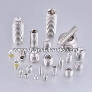 ASTM F880 F880M Stainless Steel Socket Set Screws