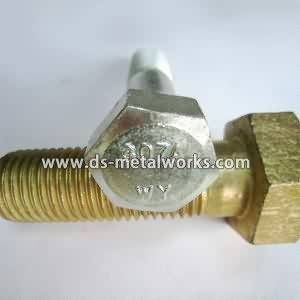 factory wholesale good quality ASTM A307 Grade A Hex Cap Screws to Mauritius Factory