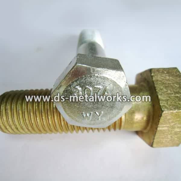 Hot New Products ASTM A307 Grade A Hex Cap Screws for Qatar Manufacturers