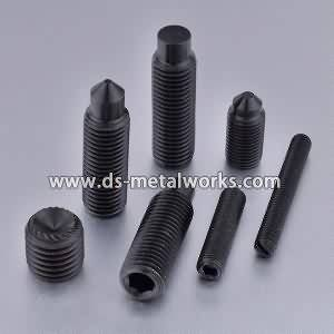 High definition wholesale ASTM F912 F912M Alloy Steel Socket Set Screws Supply to United Arab emirates