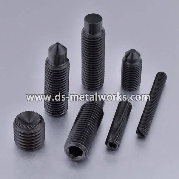 OEM manufacturer custom ASTM F912 F912M Alloy Steel Socket Set Screws for Roman Manufacturer