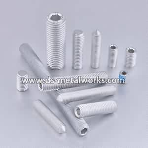 ASTM F912 F912M Aliazh çeliku Socket Set Screws