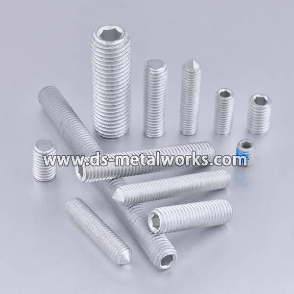 A193 B7 Tap End Studs Price - ASTM F912 F912M Alloy Steel Socket Set Screws – Dingshen Metalworks