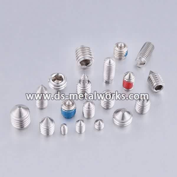 Factory directly provide Nylon Patch Socket Set Screws to Mongolia Factory