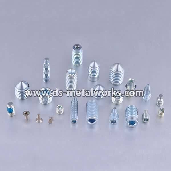Alloy Steel Set Screws  Price - ASME B18.3 Socket Set Screws – Dingshen Metalworks