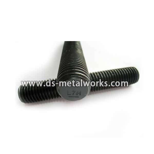 OEM manufacturer custom ASTM A320 L7M All Threaded Stud Bolts for Puerto Rico Manufacturer
