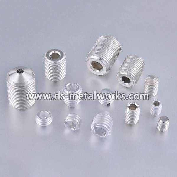 Din2510 Stud Bolts Price - Aluminium Alloy Set Screw Grub Screws – Dingshen Metalworks detail pictures