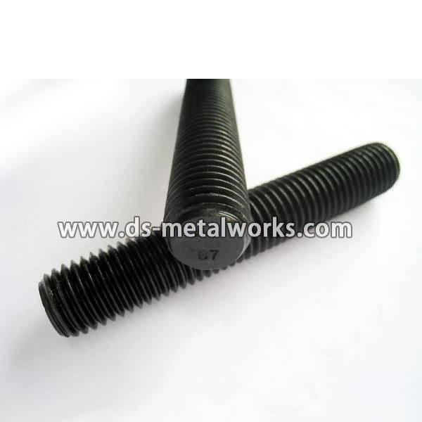 Reliable Supplier ASTM A193 B7 All Threaded Stud Bolts to Lyon Factories