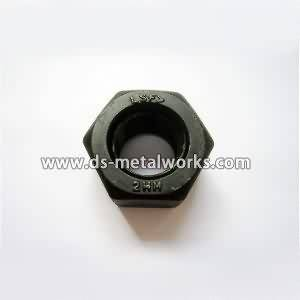 Quality Inspection for ASTM A194 2HM Heavy Hex Nuts to Madrid Factory