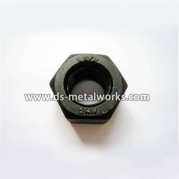 Chinese wholesale ASTM A194 2HM Heavy Hex Nuts for Barcelona Manufacturers detail pictures