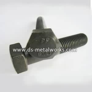 ASTM A320 L7 rënda Hex Bolts
