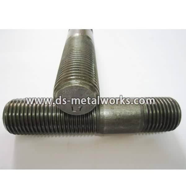 Europe style for ASTM A320 L7 Tap End Studs Double End Studs Supply to Provence detail pictures