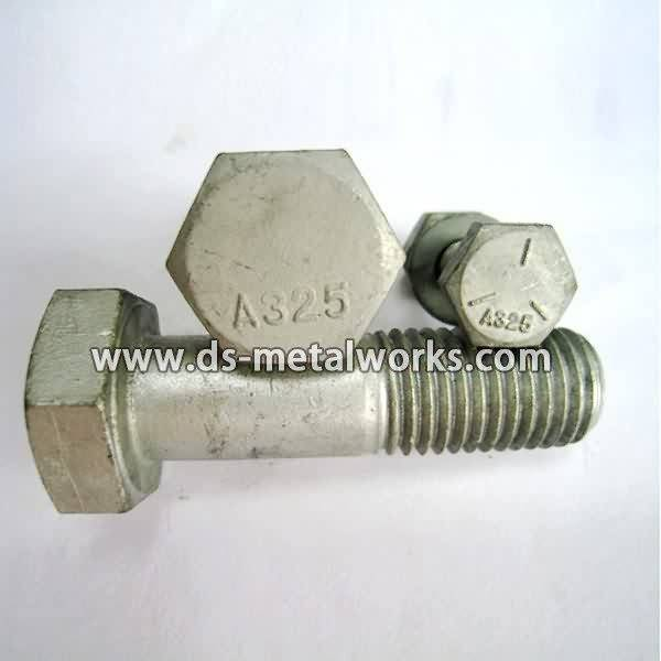 AS1252 Hex Head Bolts  Price - ASTM A325 Heavy Hex Structural Bolts – Dingshen Metalworks