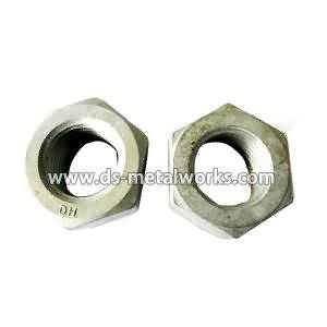 OEM Customized wholesale ASTM A563 DH Heavy Hex Nuts for Danish Manufacturers