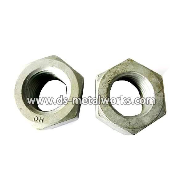 OEM Customized wholesale ASTM A563 DH Heavy Hex Nuts Export to Lyon