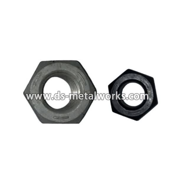 Factory Free sample ASTM A563 Grade C Heavy Hex Nuts to Johor Manufacturers