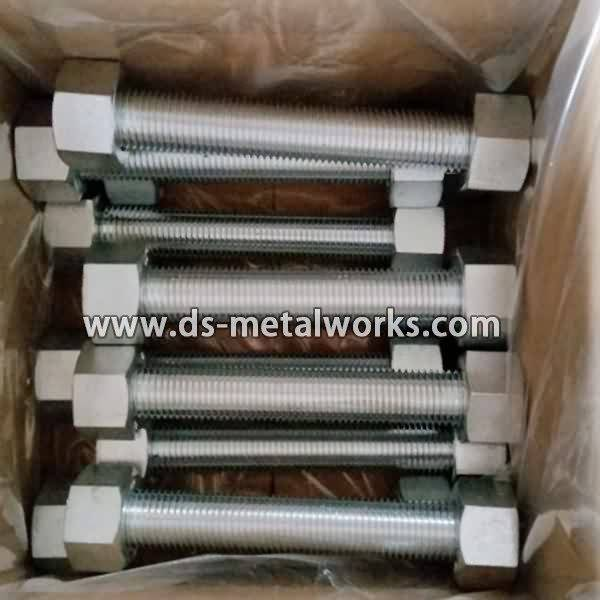 2017 wholesale price  ASTM A193 B7 All Threaded Stud Bolts to Oslo Factories detail pictures