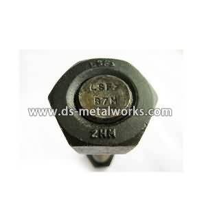ASTM A193 B7M tout Threaded Stud Vis