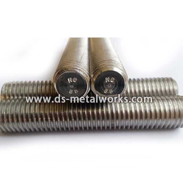Professional Design ASTM A193 A320 B8 Threaded Stud Bolts to France Manufacturers