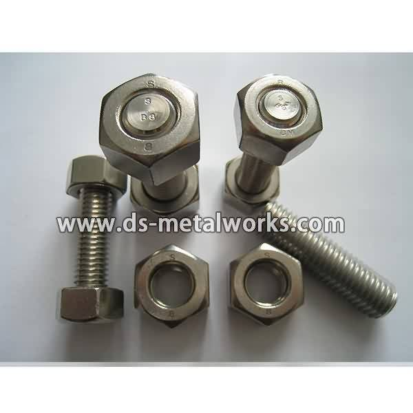 A194 4 Heavy Hex Nuts Price - ASTM A194 8M Heavy Hex Nuts – Dingshen Metalworks detail pictures