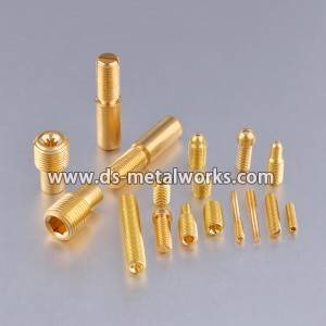 Brass Copper Set Screw Cup Point Grub Turnilyo