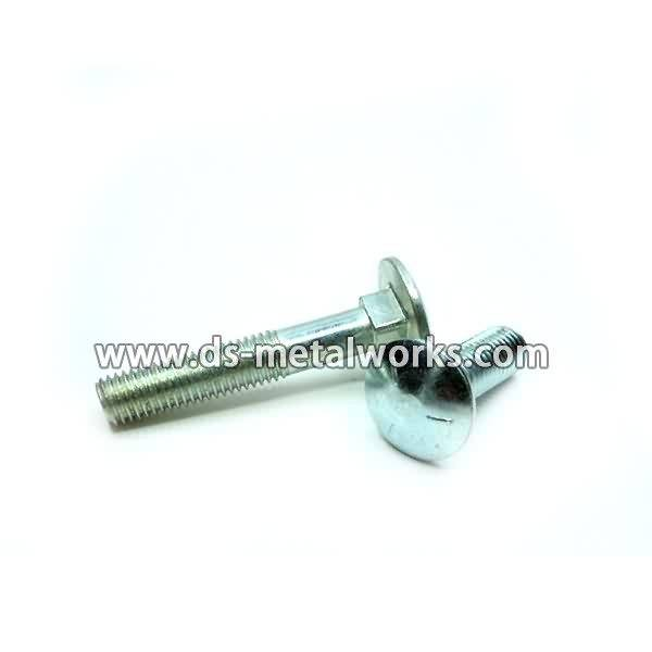 Renewable Design for DIN603 ANSI B18.5 Round Head Square Neck Carriage Bolts Supply to India detail pictures