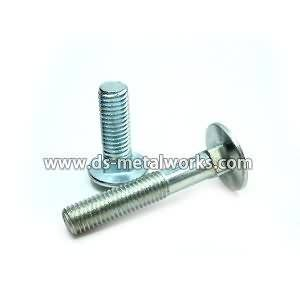 Factory best selling DIN603 ANSI B18.5 Round Head Square Neck Carriage Bolts to Myanmar Factories
