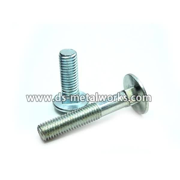 China wholesale DIN603 ANSI B18.5 Round Head Square Neck Carriage Bolts Export to Qatar
