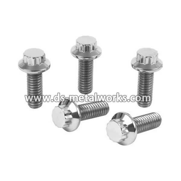 Factory Supplier for Chrome Plated A193 B7 Threaded Stud Bolts to Sri Lanka Manufacturer