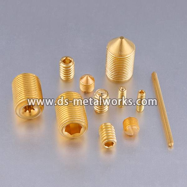 A193 B7 Bolts Price - Alloy Steel 33H 45H Socket Set Screws – Dingshen Metalworks detail pictures
