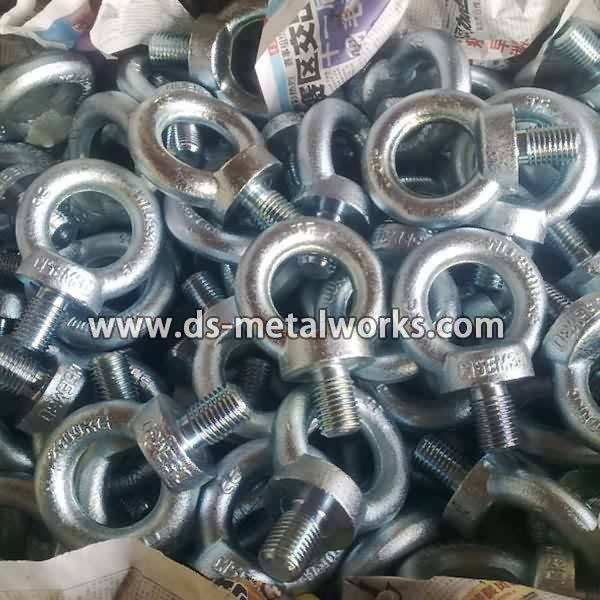 Factory wholesale price for DIN580 ASME B18.15 Lifting Forged Eye Bolts for Lesotho Manufacturers detail pictures